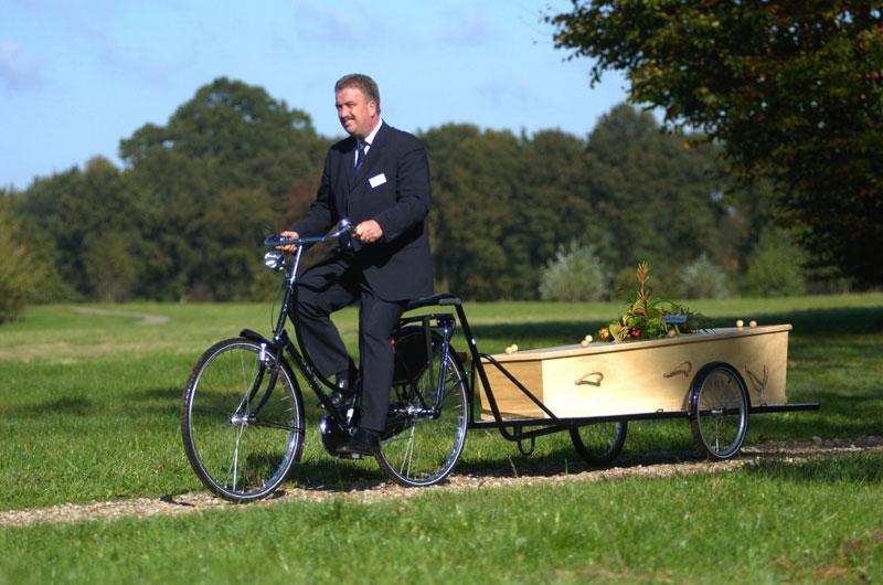Uitvaart fiets